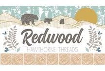 Redwood / Our next In House fabric collection follows a mama bear & her cubs in the Pacific Northwest, where Redwood trees stand as tranquil sentries to another time. Their humbling heights instill a sense of wonder no superlative can capture. The feeling is not unlike the one a new parent feels, making this collection a wonderful choice for nurseries & children's. With its natural hand these designs lend themselves beautifully to bedding, quilts, apparel & accessories that both mamas & cubs will adore.