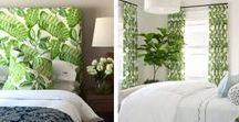 Tropical Decorating Ideas / Designing your home with tropical, palm and island flair