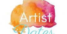 Artist Dates / Inspiration for finding inspiration! Take your inner artist out on a date by looking for beauty, novelty, fun and freedom. 2 hours BY YOURSELF, every week, as prescribed by Julia Cameron in The Artist's Way.