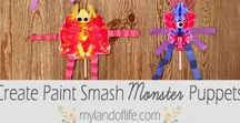 Halloween crafts and activities for preschoolers / fun, simple, hands-on Halloween crafts and activities for kids