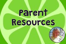 Parent Resources / Parent Resources for speech and language development and education.  Board compiled by Danielle Reed, M.S., CCC-SLP
