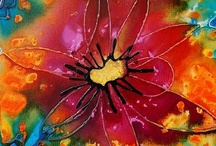 Art as a Spiritual Journey / Creating art, whether painting, creating collages, throwing pots (as in pottery), knitting, crocheting, arranging flowers or photographing ~ it is all a sacred spiritual dance to me. These are some of my experiences and some of my clients, who have given me permission to share their work.