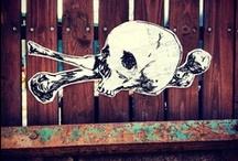 Street art & Stencil art & Conceptual art / stencil, graffiti, sticker art, street poster, guerrilla art, street installations, conceptual art