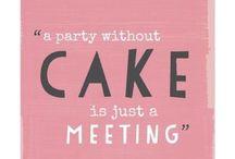 Cakes / by Aisha Carr/Panorelli