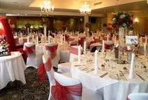 Wedding  Breakfast / This is a selection of different wedding room set ups at The Pinewood Hotel near Slough, South Buckinghamshire
