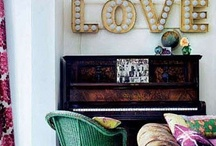 Breakfast Nook/Piano Room. / by Erin Gooch