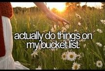 Bucket List xo / by Laura Crichton