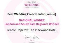 Pinewood Hotel's Wedding Industry Awards