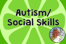 Autism/Social Skills / Autism and Social Skills resources, materials, and ideas for SLPs, educators, and parents. Compiled by Danielle Reed, M.S., CCC-SLP