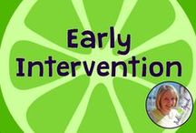 Early Intervention / Early Intervention ideas, materials, resources, and information for SLPs, educators, and parents. Board compiled by Danielle Reed, M.S., CCC-SLP