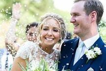 Wedding | Debbie Carlisle | Real Brides / Inspiration from real brides who chose Debbie Carlisle wedding hair accessories, bouquets or other bridal accessories