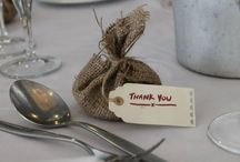 Wedding Favours / Here's a selection of wedding Favours that I have had at the Pinewood Hotel