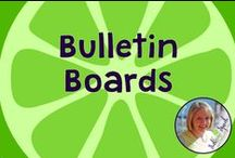 Bulletin Board Ideas / Bulletin Board Ideas for SLPs and Educators.  Board compiled by Danielle Reed, M.S., CCC-SLP