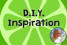 D.I.Y. / Do it Yourself ideas for SLPs! Board compiled by Danielle Reed, M.S., CCC-SLP