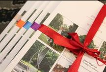 Wedding Brochure / Have a look at the wedding brochures, I hand tie each one with ribbon and have done for the past year now. This November (2015) I have got 6 different colours to give to couples if they mention they have already picked a colour. Here at the Pinewood we like to go the extra mile.