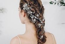 Wedding | Debbie Carlisle | The Secret Garden Collection / Vintage bohemian bridal hair accessories, hair vines, combs, hair pins and headbands inspired by the trailing florals of the English countryside.
