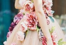Wedding | Dresses | Floral appliqué / stunning floral inspired dresses for that extra special romantic bride