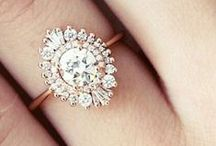 Wedding | Rings / Diamonds are a girls best friend, or so it is said...