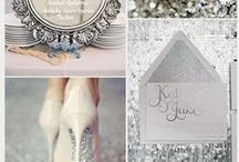 Wedding | Silver Inspiration / If sparkle is your thing, you'll love our Silver Inspiration board full of beautiful frocks, sparkly shoes, fabulous flowers and all things pretty