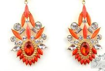 The Trendy Earring / Collectiong Stylish Fashion Earrings / by Twin Elegance