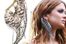 Feather Fashion / Fashionably fabulous feather Accessories. / by Twin Elegance