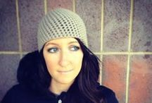 Easy Crochet Beanie Patterns / Designed by Denver Whimsy :) / by Denver Whimsy Crochet | Delight Iverson
