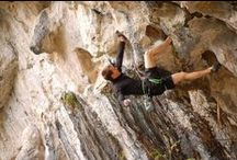 Climb on! / All about rock climbing...
