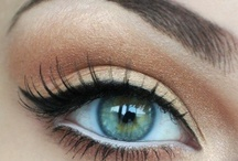 Made Up / makeup, eyeliner, lipstick, cosmetics, eyes, lips / by Tessa