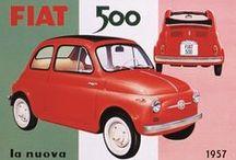 Fiat 500 ~ My dream car! / by Nancy Dooren