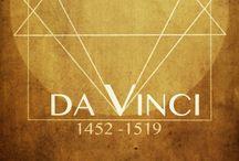 Leonardo da Vinci / Da Vinci is the greatest inventor. Love his art!