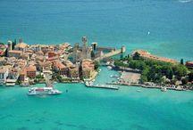 Sirmione ~ lake Garda, Italy / Sirmione, a beautiful place at lake Garda. One of my favorite places at lake Garda.
