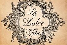 Italian Dolce ~ sweetness