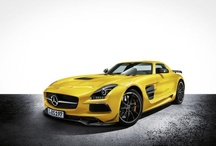 The new Mercedes-Benz SLS AMG Coupe Blac