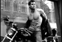 Hot Guys on Bikes