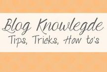 Blog Knowledge / Resources for bloggers to help grow and expand their online presence.