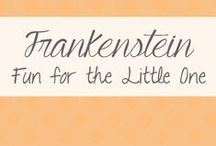 """Frankenstein / Pins that scream """"Connor!!"""" when I discover them. Ideal for a boys of any age."""