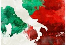 Italy maps / Avrai tu l'universo, resti l'Italia a me ~ You may have the universe if i may have Italy.
