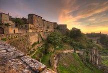 Volterra, Italy / On my bucket list for summervacation 2018.