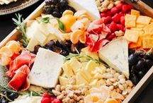 EATS Fruit and Cheese Trays / ... and other delectables.