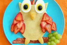 Food ideas for kids / Healthy and fun ideas for school lunch boxes, snacks and meals.