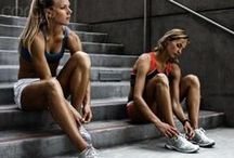 oiselle photoshoot inspiration / Taking fashion to the track, trails and running start line. / by oiselle
