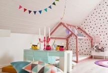 Kids Interiors / Ideas and inspiration for bedrooms and play spaces for the little people. / by Ness @ One Perfect Day