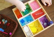 Montessori at Home / Montessori inspired learning activities and ideas for introducing Montessori to our home.
