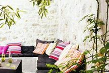 Robert Allen Indoor/Outdoor Fabrics / These indoor/outdoor fabrics enable you to decorate without fear of the elements ruining your design vision.