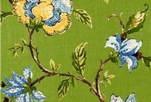 Green Fabric / A wide array of colors to liven any room you enter.