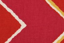Red Fabric / A wide array of colors to liven any room you enter.