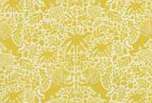 Yellow Fabric / A wide array of colors to liven any room you enter.