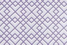 Purple Fabric / A wide array of colors to liven any room you enter.