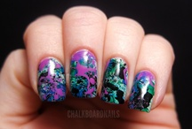 Splatter Manicures / by Chalkboard Nails