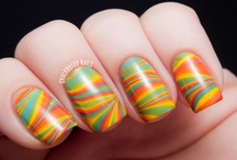 Marbling Nail Art / by Chalkboard Nails